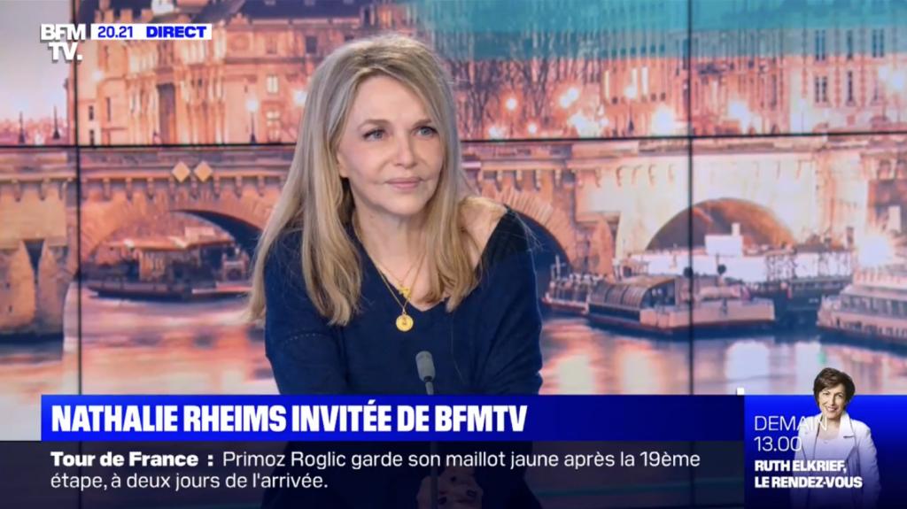 Vignette BFM TV Nathalie Rheims